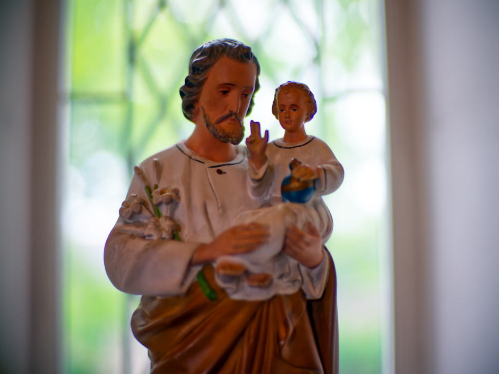 St. Joseph, pray for us